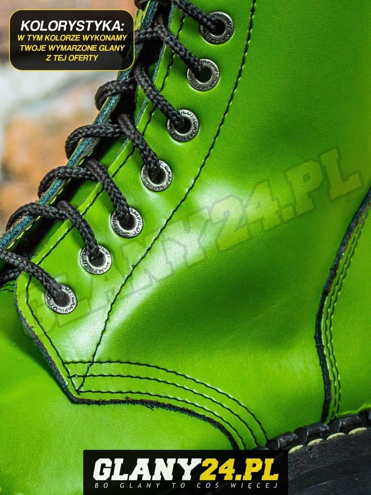 Glany jasne zielone