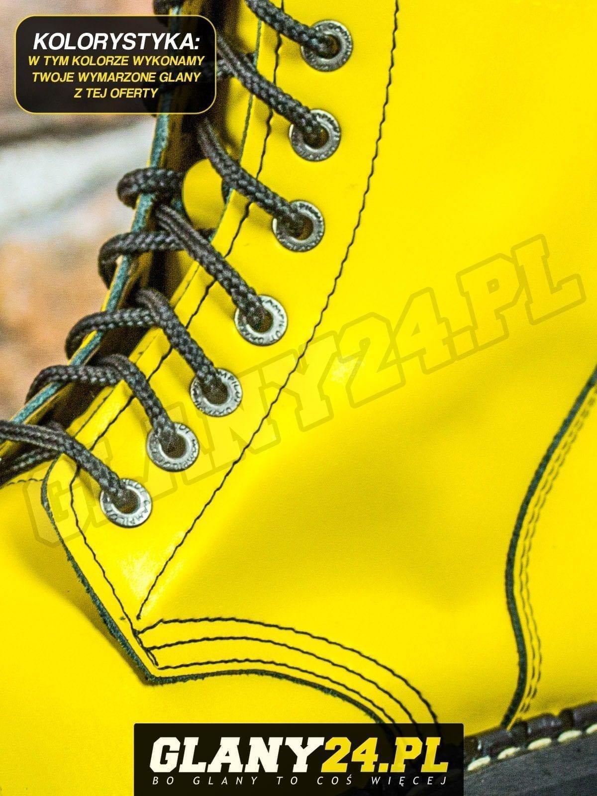 Glany żółte