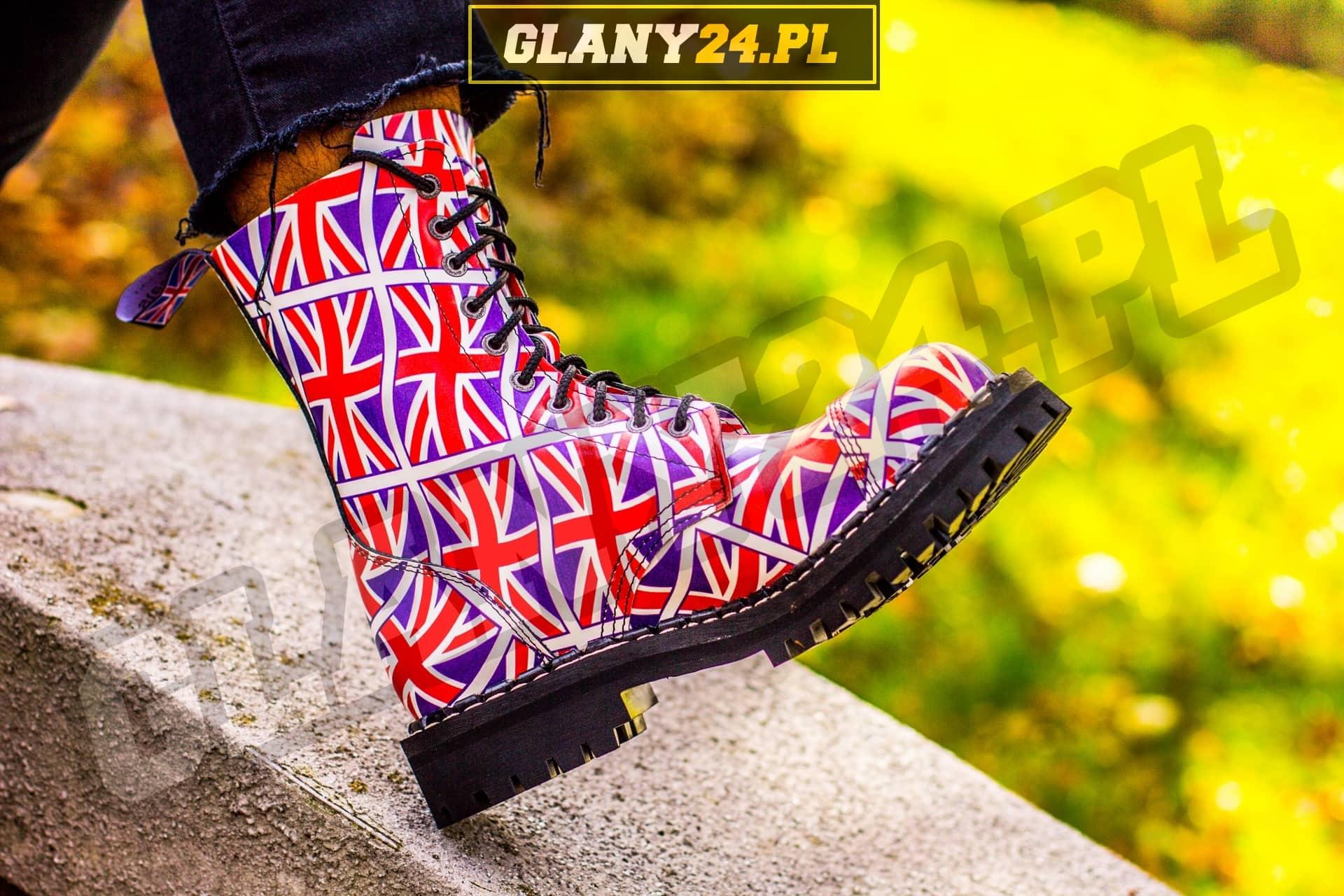 Glany flaga Wielkiej Brytanii